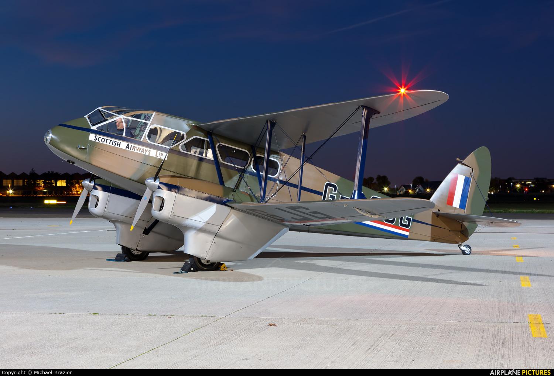 Private G-AGJG aircraft at Northolt