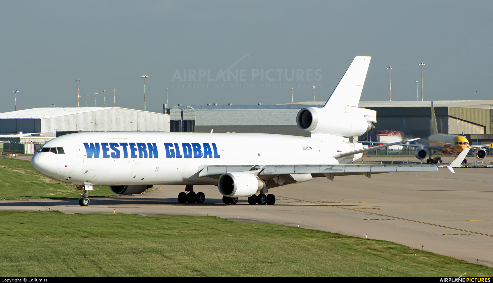 Western Global Airlines N581JN aircraft at East Midlands