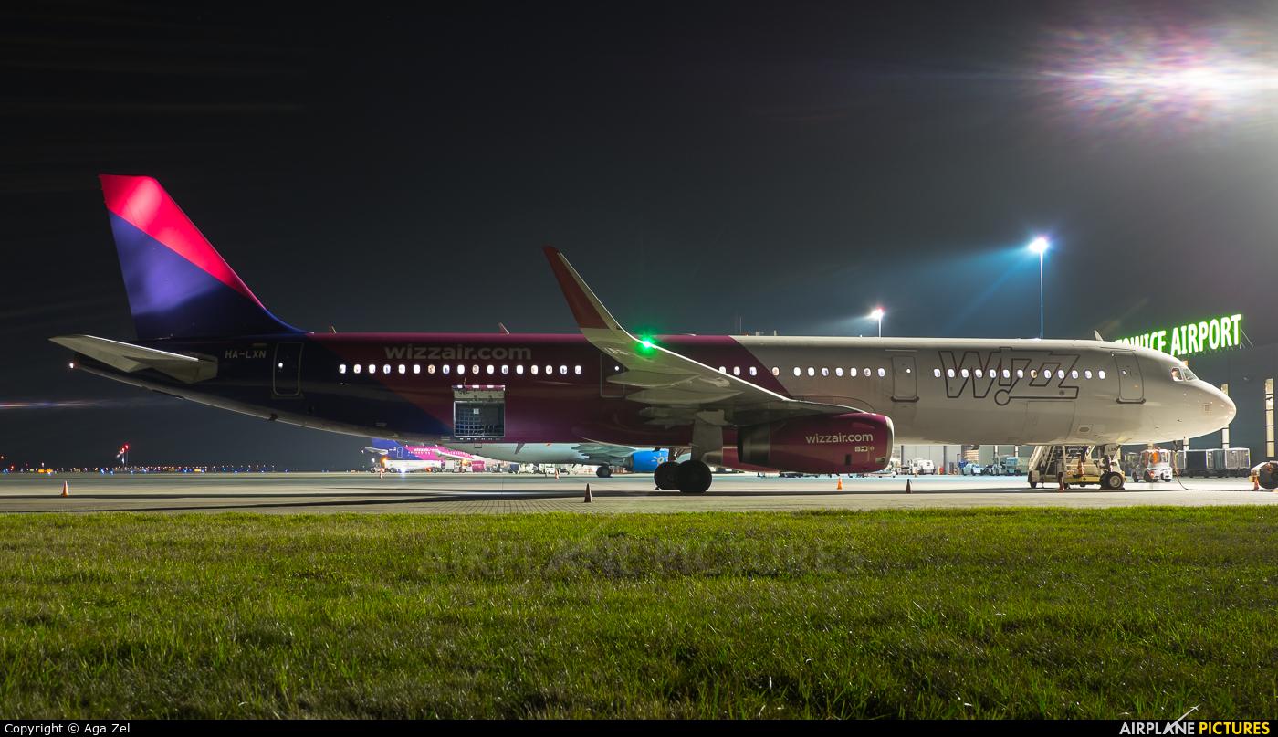 Wizz Air HA-LXN aircraft at Katowice - Pyrzowice