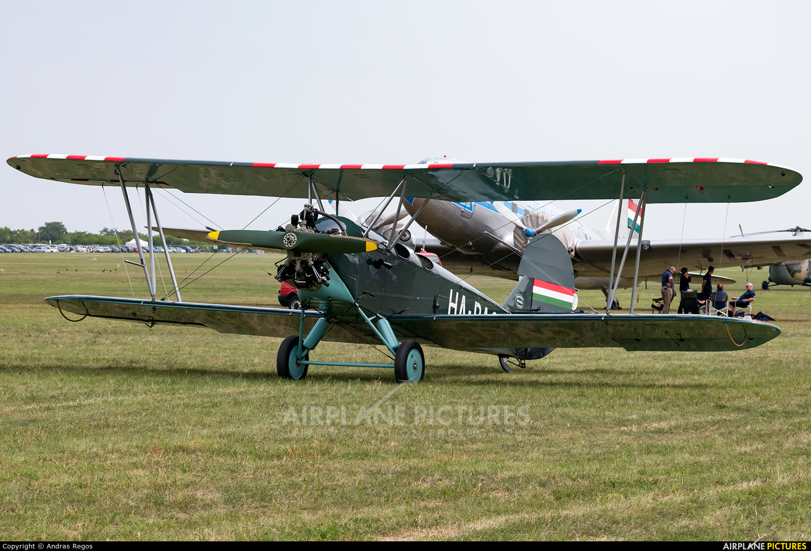 Private HA-PAO aircraft at Budaors