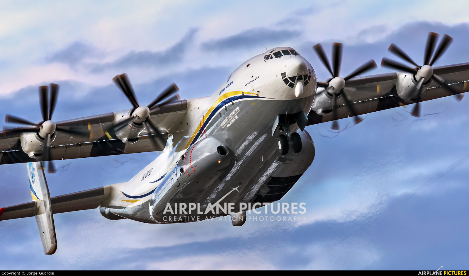 Antonov Airlines /  Design Bureau UR-09307 aircraft at Madrid - Torrejon