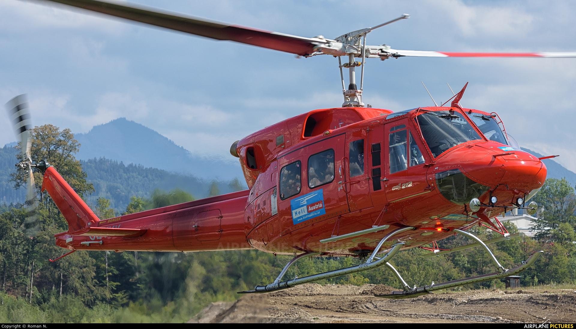 Heli Tirol OE-XKK aircraft at Off Airport - Austria