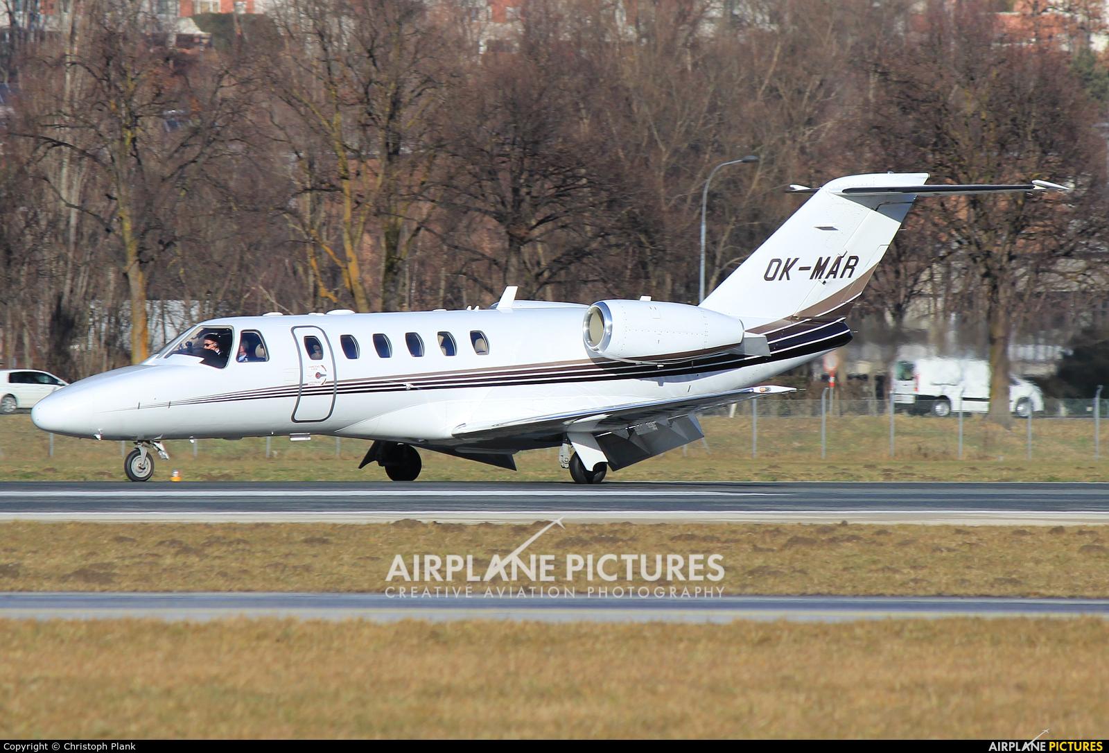 Private OK-MAR aircraft at Innsbruck