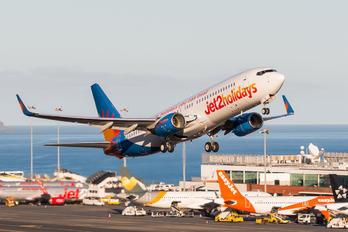 G-JZBD - Jet2 Boeing 737-800