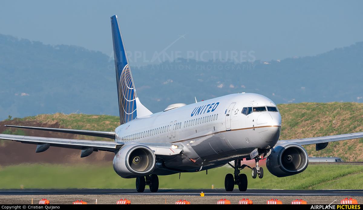 United Airlines N14249 aircraft at San Jose - Juan Santamaría Intl