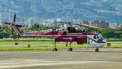 N722HT - Helicopter Transport Services Sikorsky CH-54 Tarhe/ Skycrane