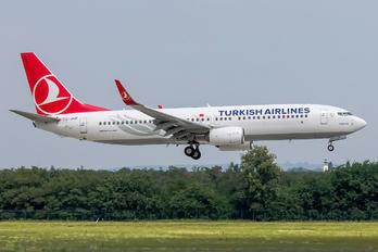 TC-JVP - Turkish Airlines Boeing 737-800