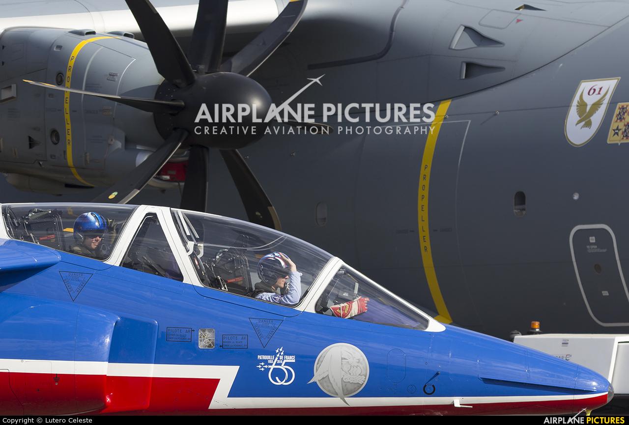 "France - Air Force ""Patrouille de France"" E114 aircraft at Toulouse - Francazal"