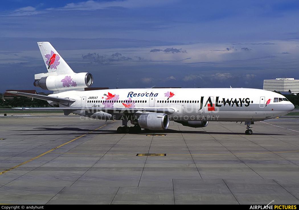 JALways JA8547 aircraft at Bangkok - Don Muang