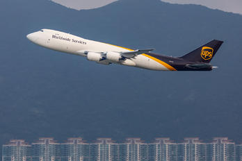 N611UP - UPS - United Parcel Service Boeing 747-8F