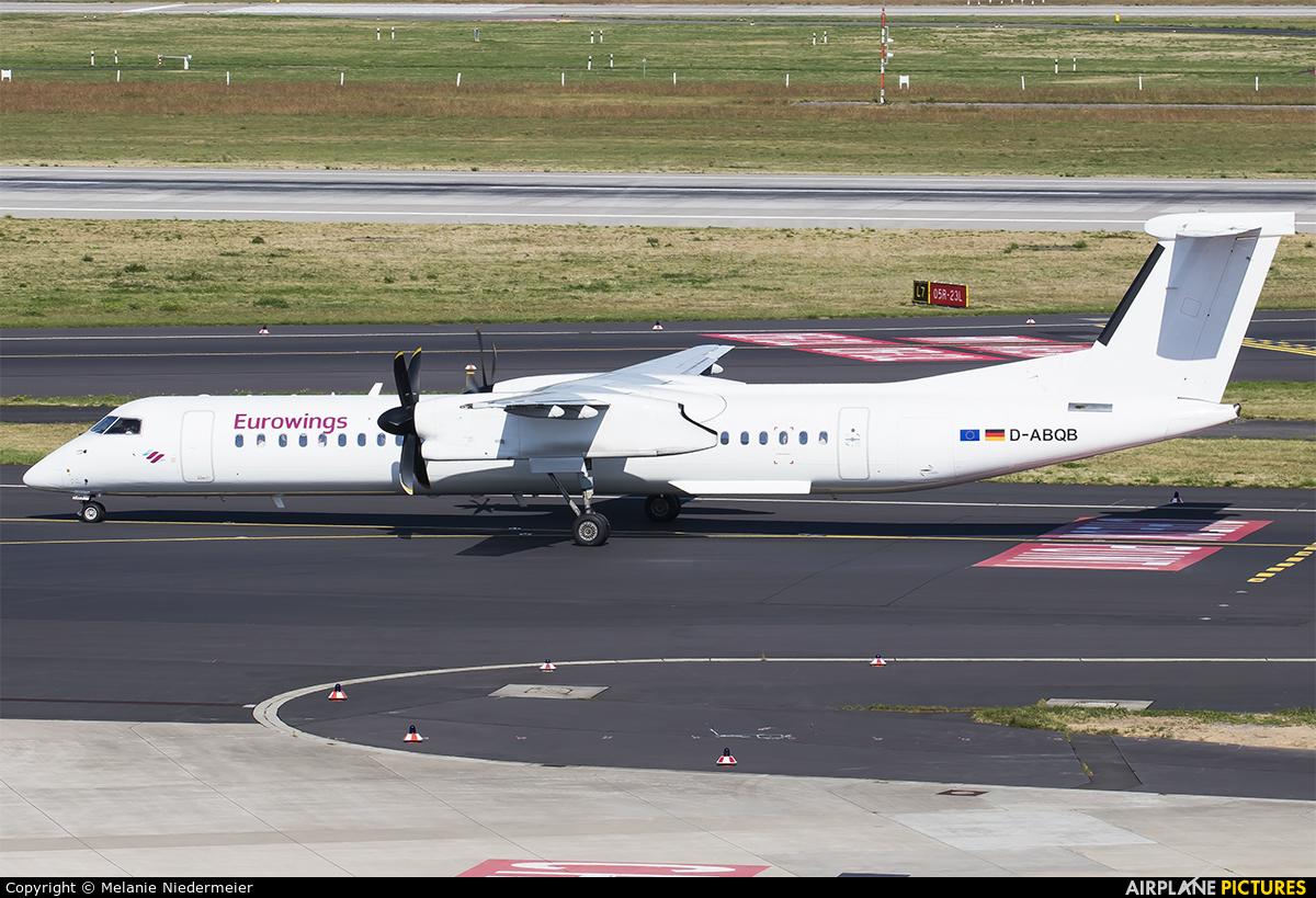Eurowings D-ABQB aircraft at Düsseldorf