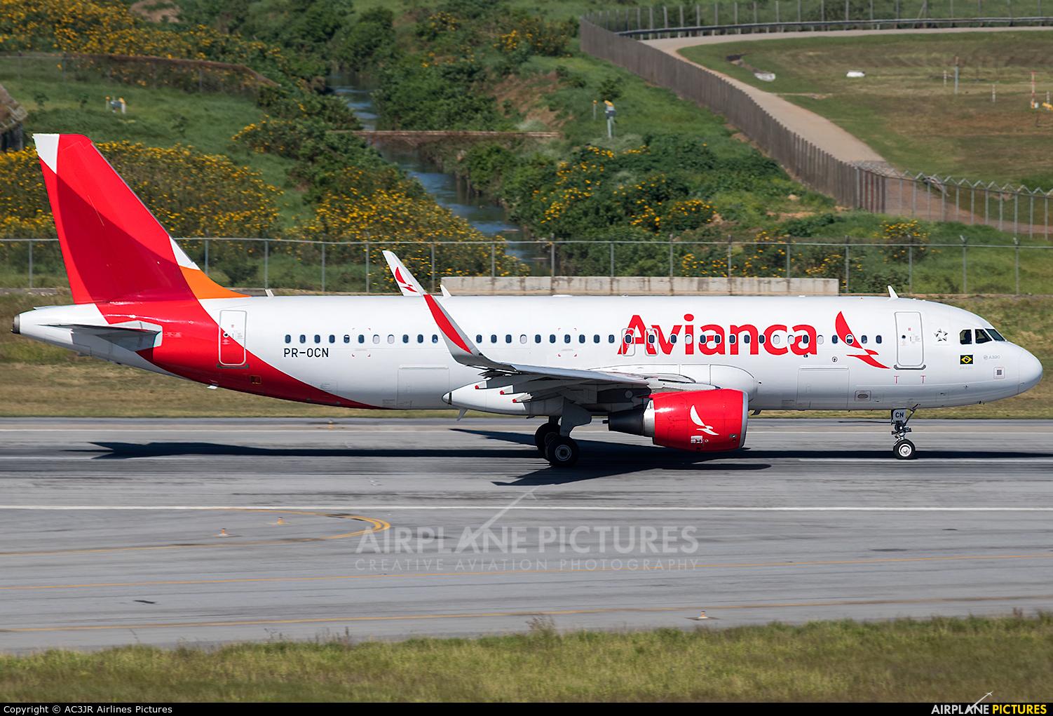 Avianca Brasil PR-OCN aircraft at São Paulo - Guarulhos