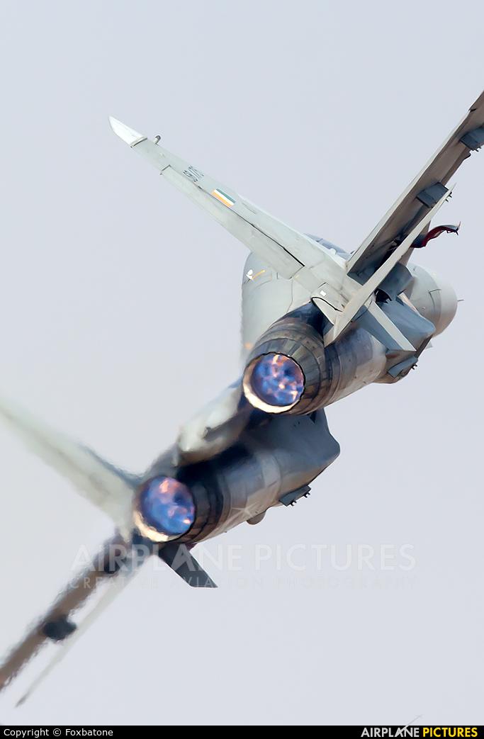 India - Air Force SB175 aircraft at Yelahanka AFB