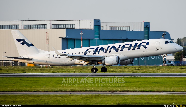 Finnair OH-LKF aircraft at Warsaw - Frederic Chopin