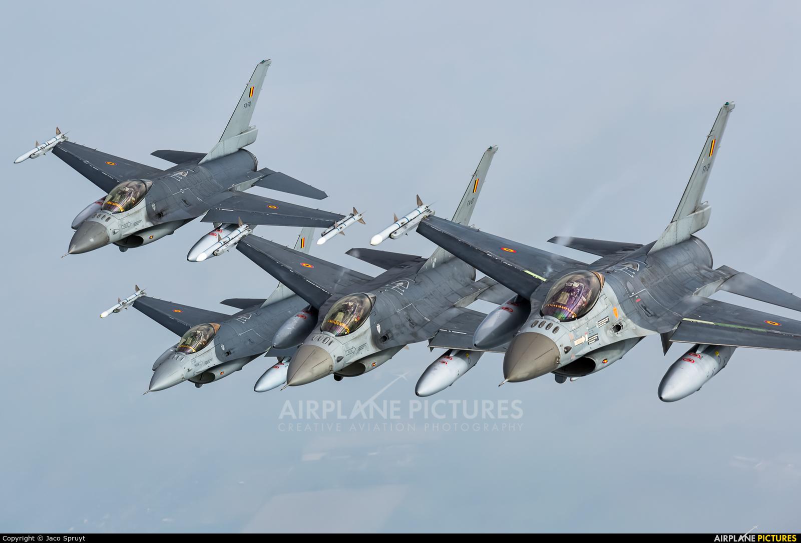 Belgium - Air Force - aircraft at In Flight - Belgium