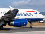 G-EUYE - British Airways Airbus A320 aircraft