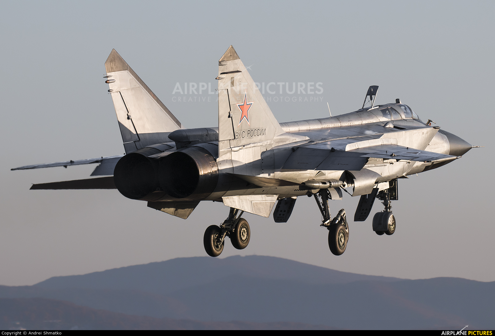Russia - Air Force 57 aircraft at Off Airport - Russia