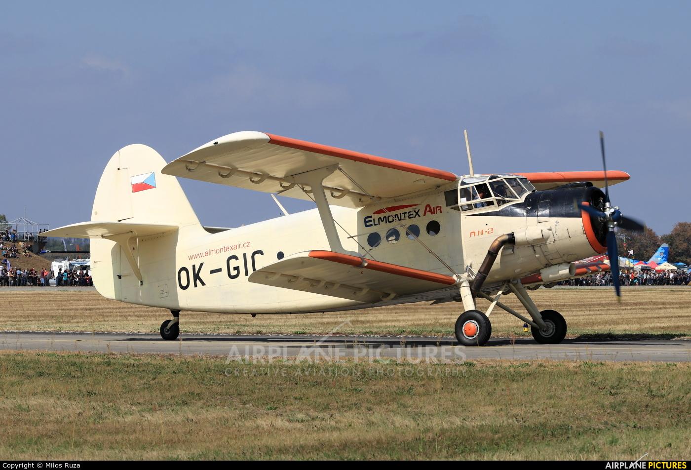Private OK-GIC aircraft at Hradec Králové