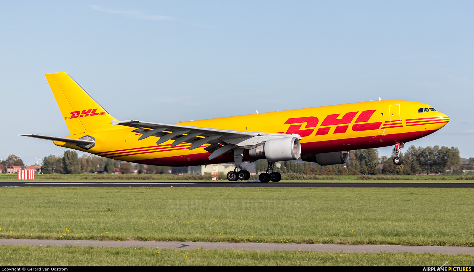 DHL Cargo D-AEAD aircraft at Amsterdam - Schiphol