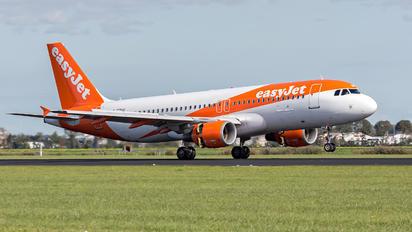 G-EZUO - easyJet Airbus A320