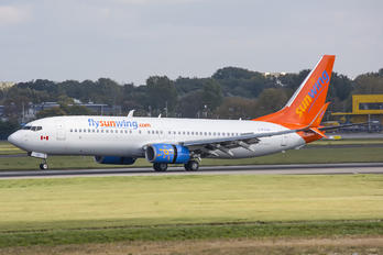 C-FTJH - Sunwing Airlines Boeing 737-800