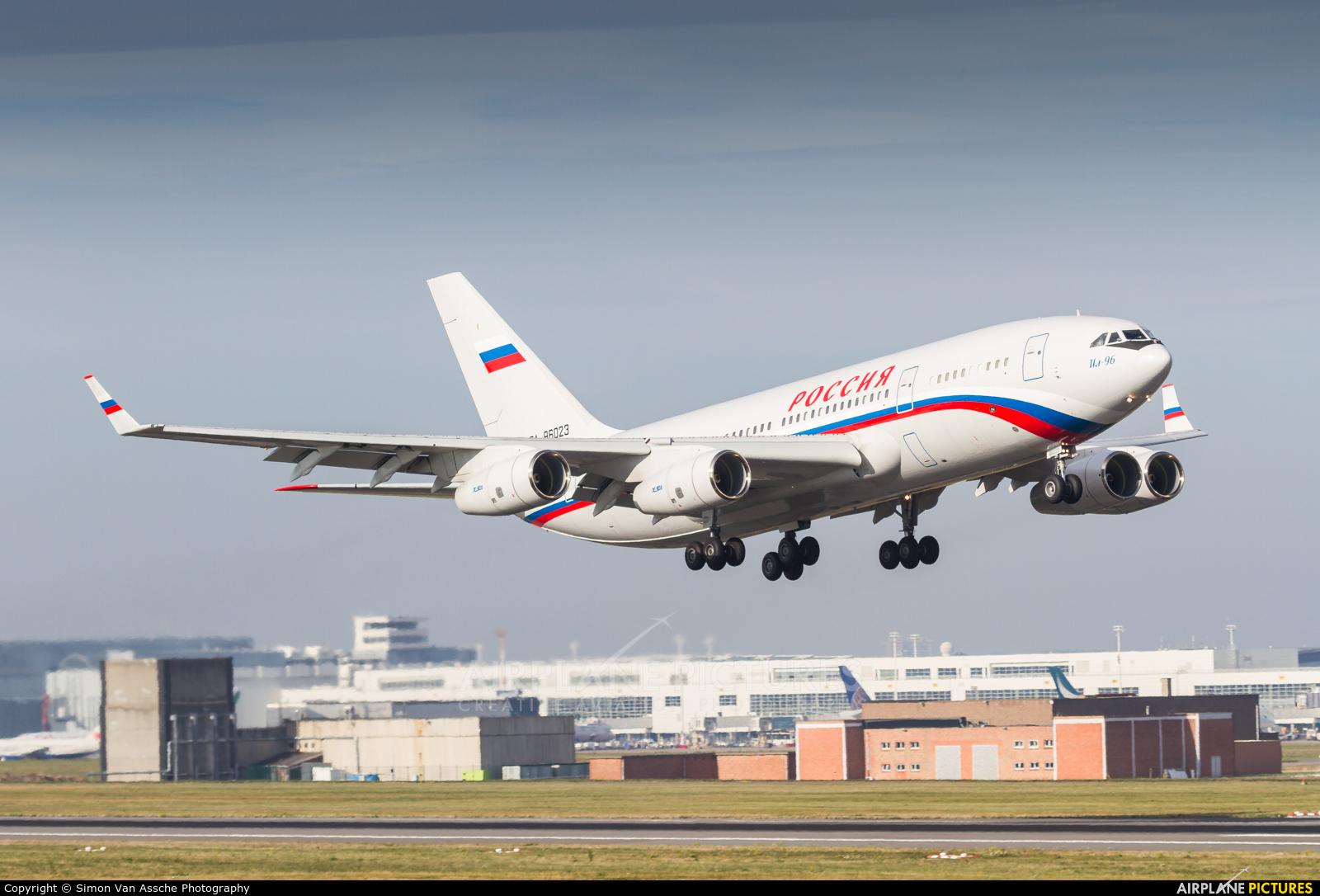 Rossiya Special Flight Detachment RA-96023 aircraft at Brussels - Zaventem