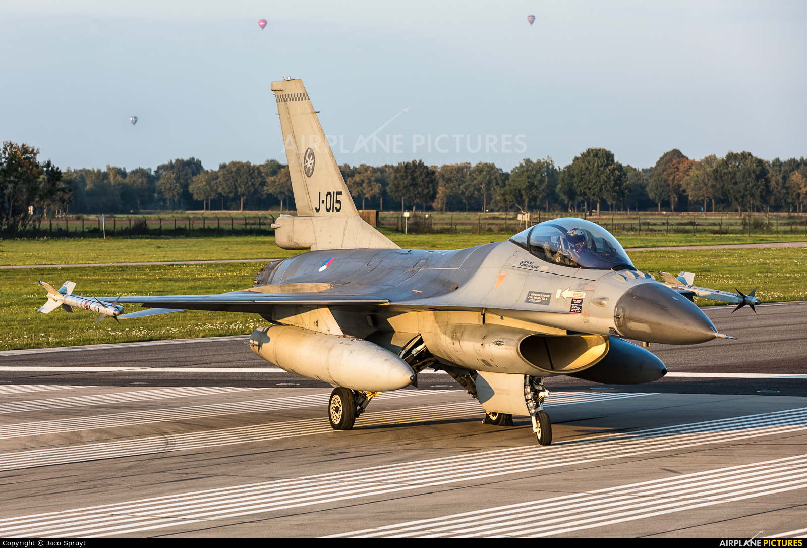Netherlands - Air Force J-015 aircraft at Uden - Volkel