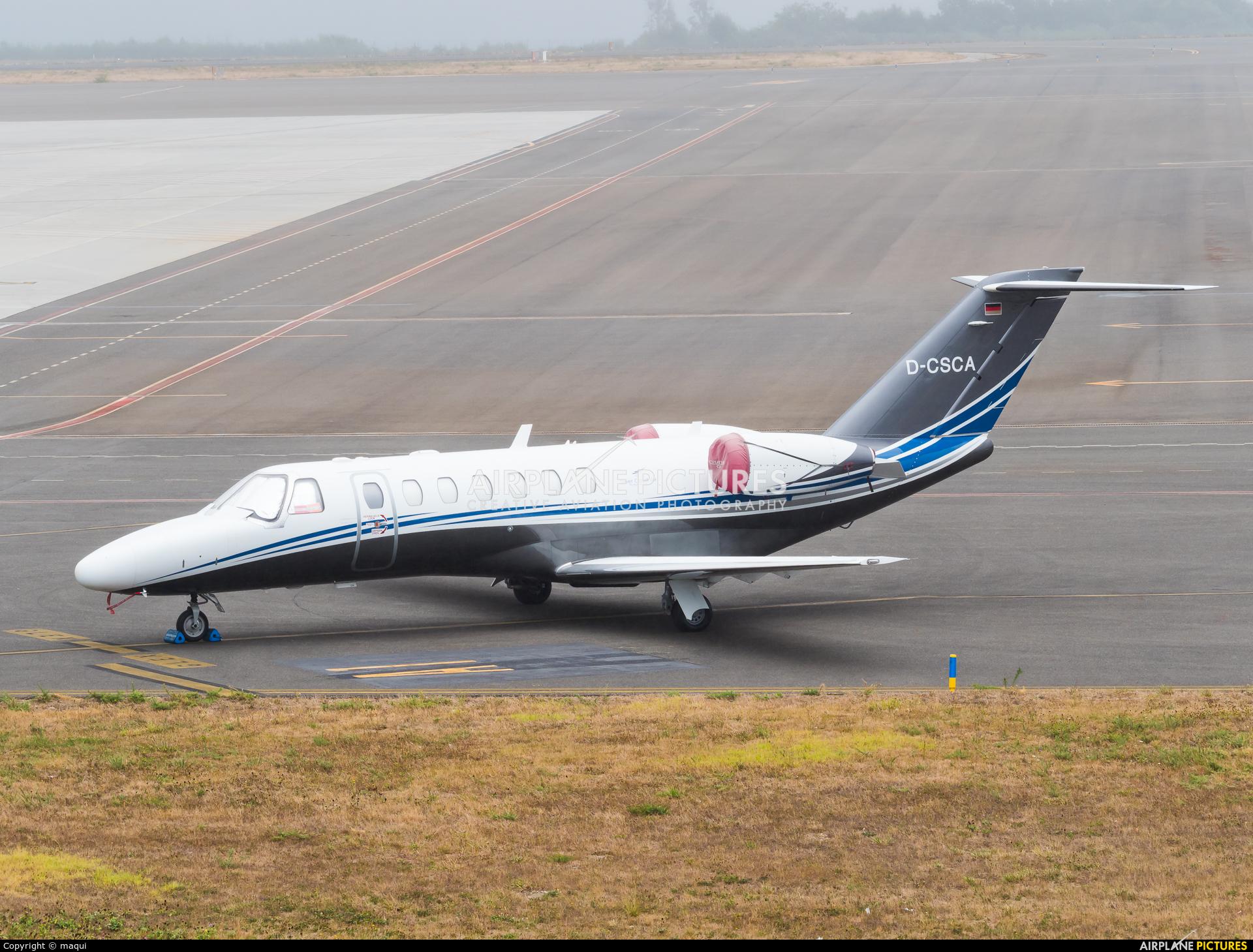 Silver Cloud Air D-CSCA aircraft at Santiago de Compostela