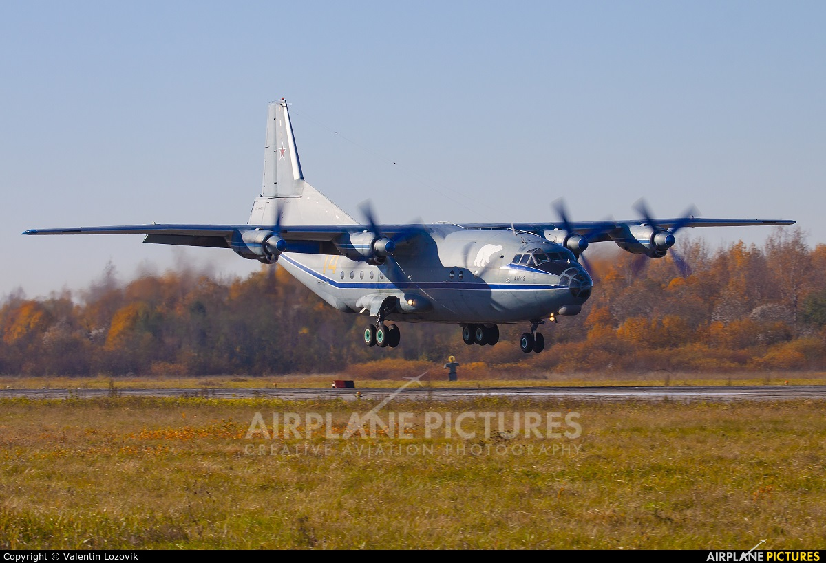 Russia - Navy 14 aircraft at Undisclosed location