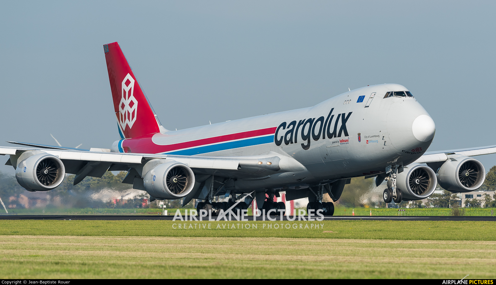 Cargolux LX-VCD aircraft at Amsterdam - Schiphol