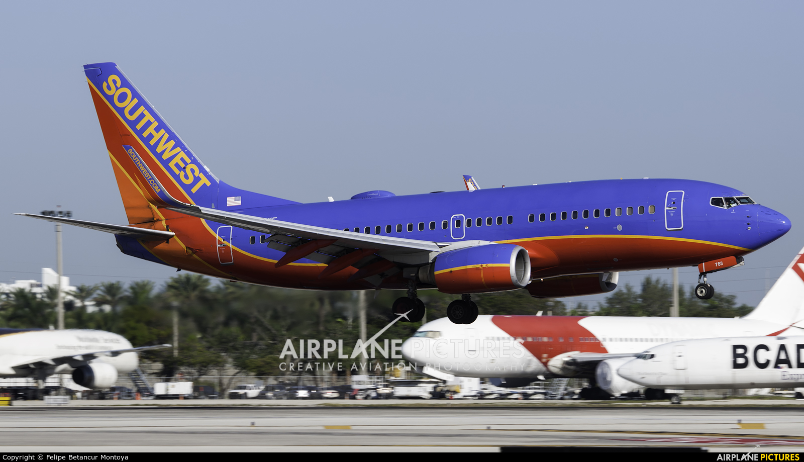 Southwest Airlines N7811F aircraft at Fort Lauderdale - Hollywood Intl