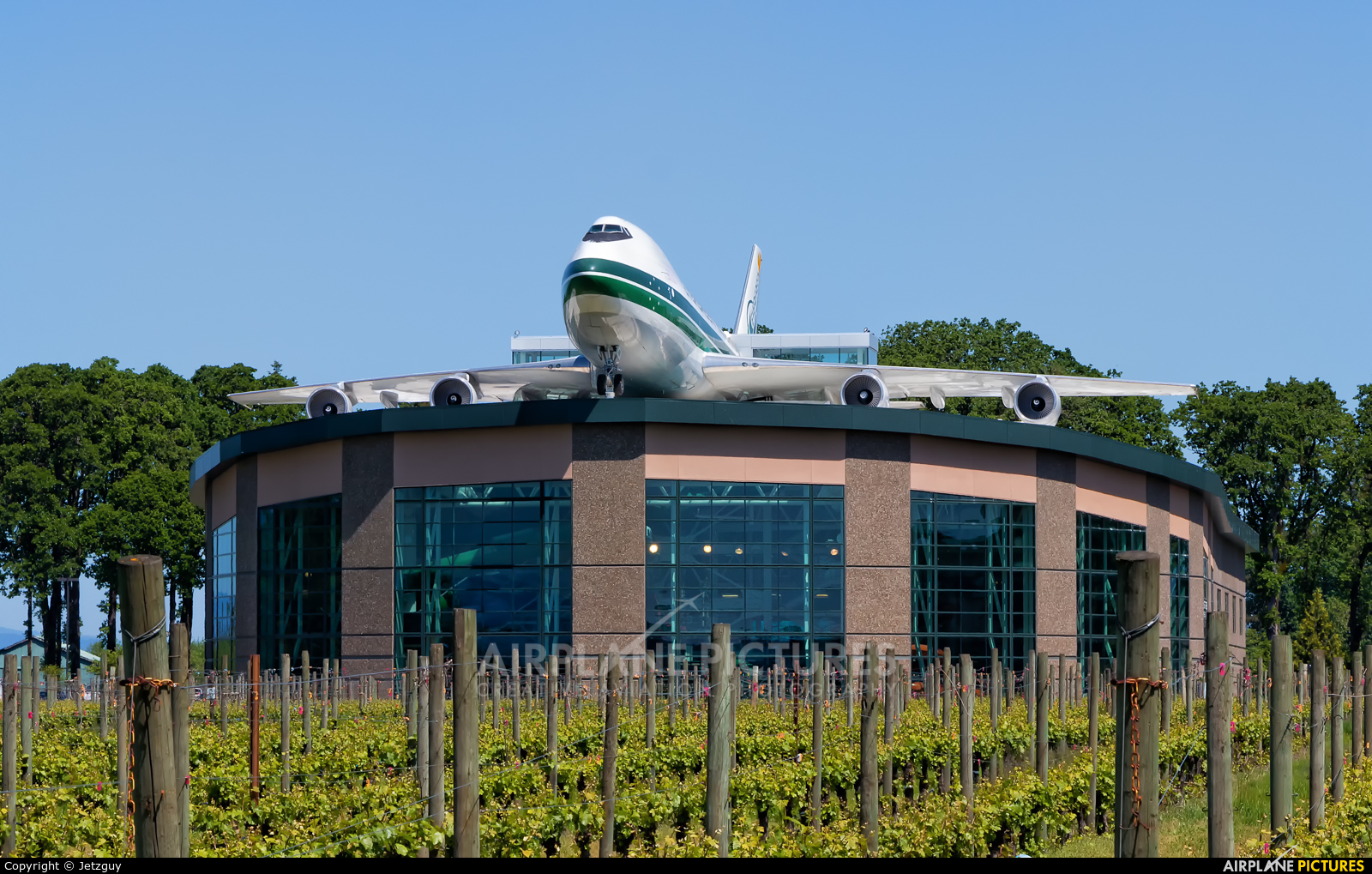 Evergreen International N481EV aircraft at McMinnville - Evergreen Aviation & Space Museum