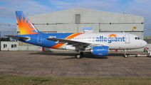 Allegiant Air Airbus A319 visited East Midlands title=