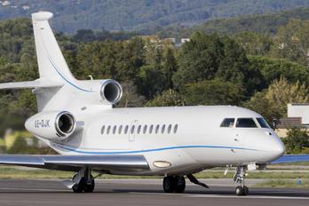 SE-DJK - Private Dassault Falcon 7X