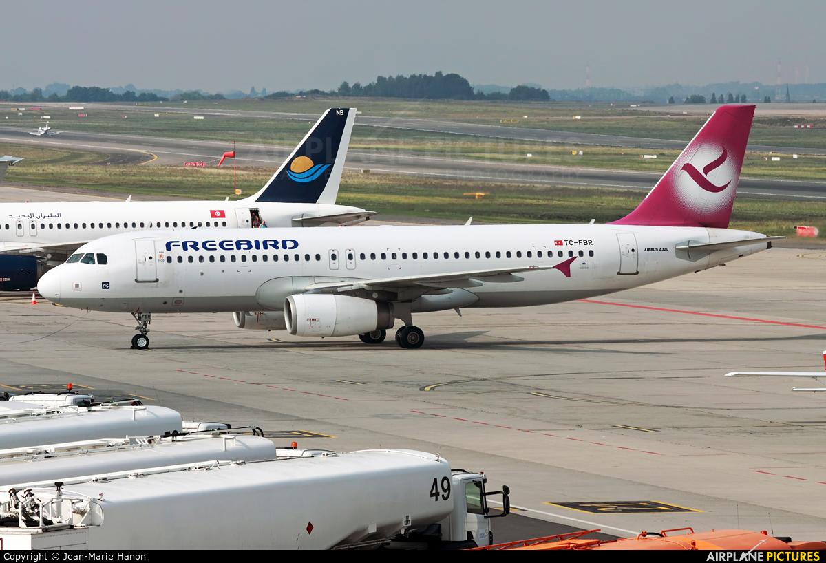 FreeBird Airlines TC-FBR aircraft at Liège-Bierset