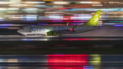 JA801X - Solaseed Air - Skynet Asia Airways Boeing 737-800