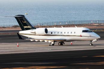 N604KJ - Private Bombardier CL-600-2B16 Challenger 604