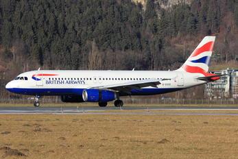 G-EUUD - British Airways Airbus A320