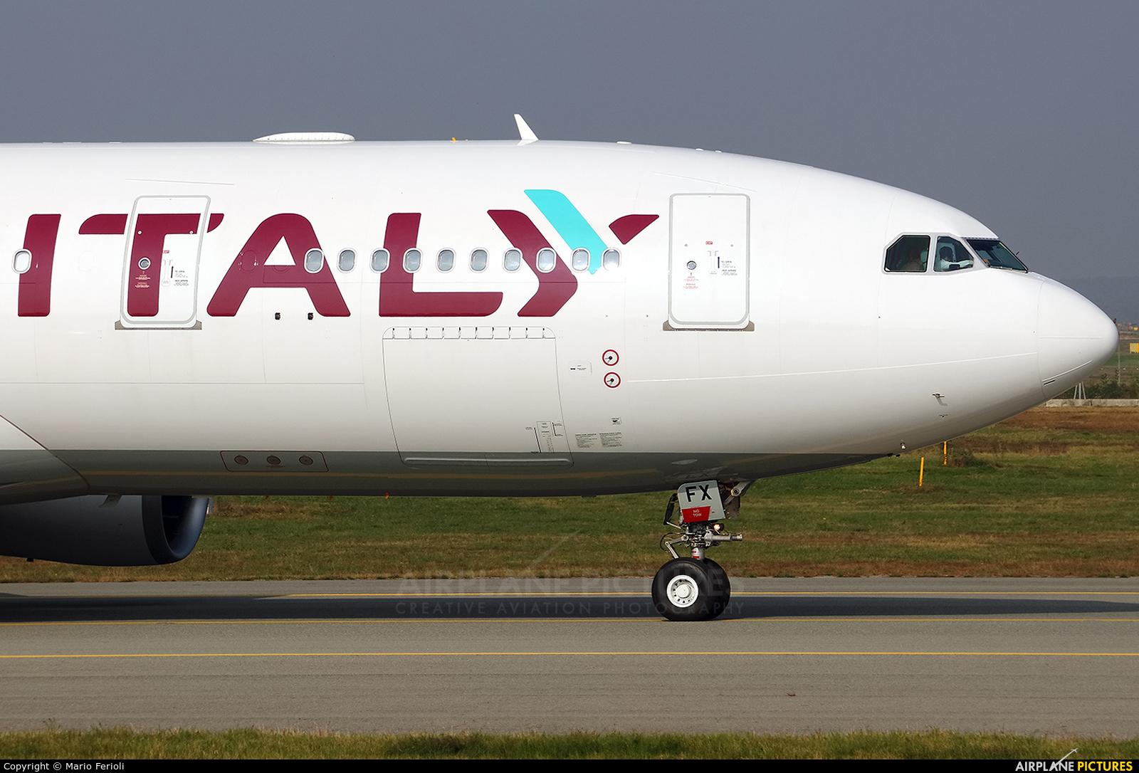 Air Italy EI-GFX aircraft at Milan - Malpensa