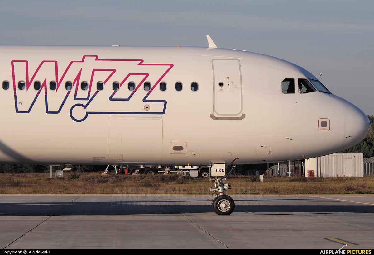 Wizz Air UK G-WUKC aircraft at Olsztyn Mazury Airport (Szymany)