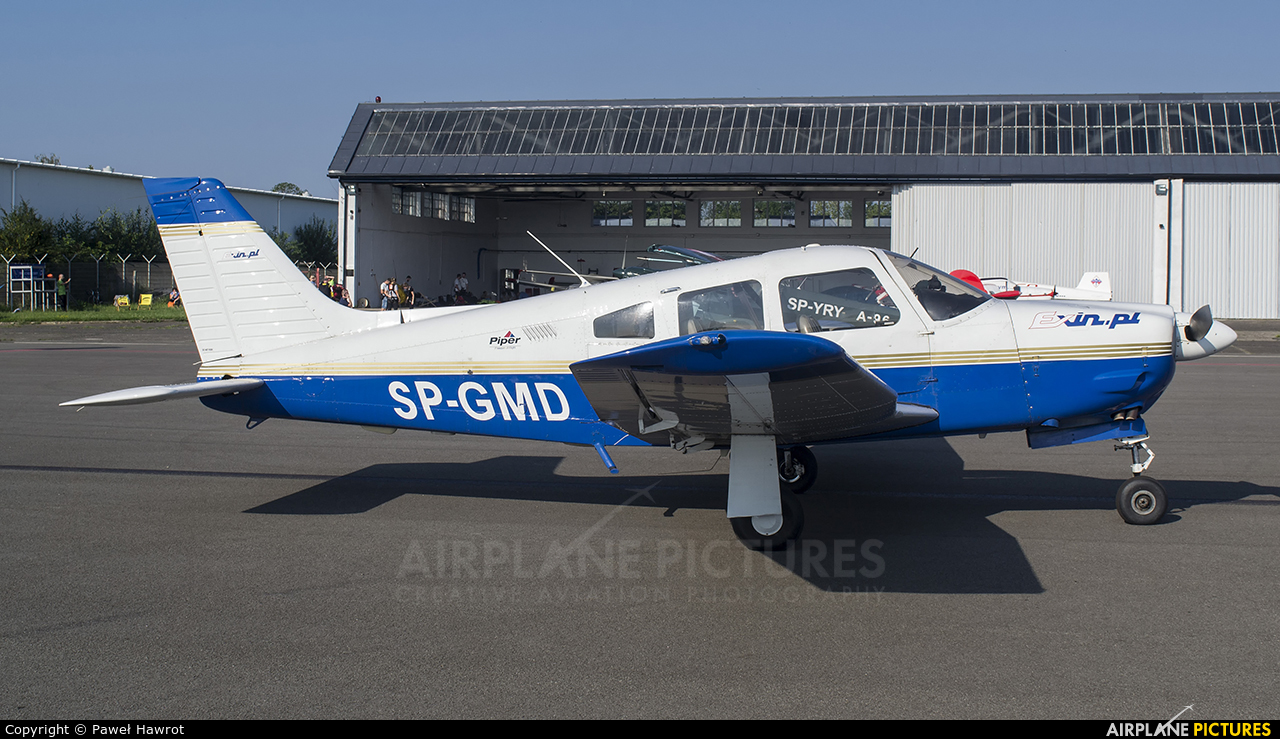 Private SP-GMD aircraft at Krosno