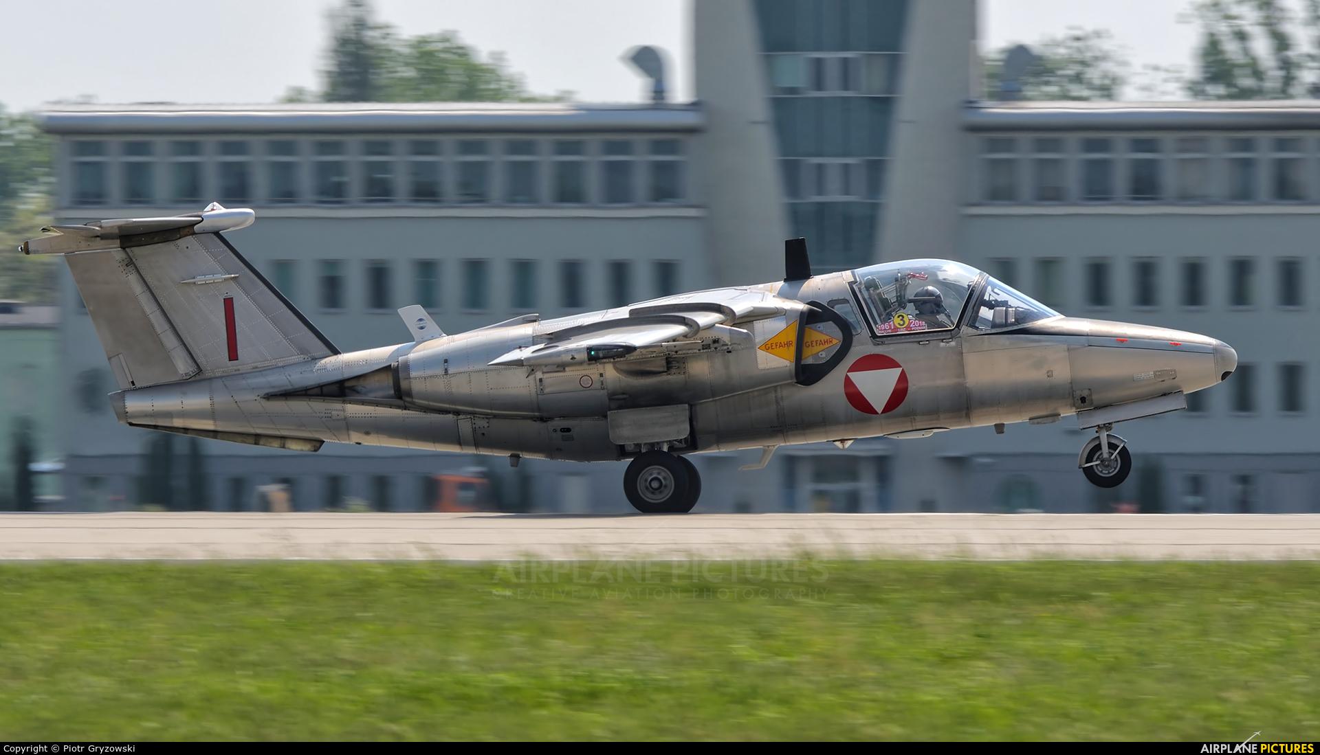 Austria - Air Force 1139 aircraft at Poznań - Krzesiny