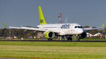 YL-CSE - Air Baltic Bombardier CS300 aircraft
