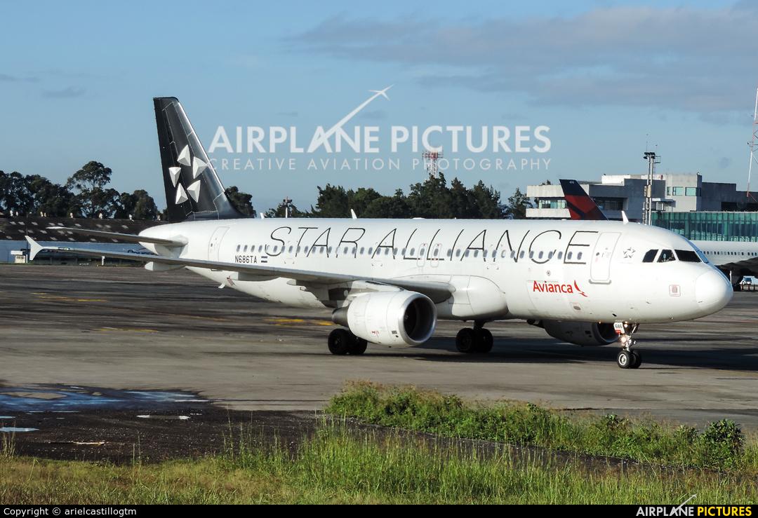 Avianca N686TA aircraft at Guatemala - La Aurora