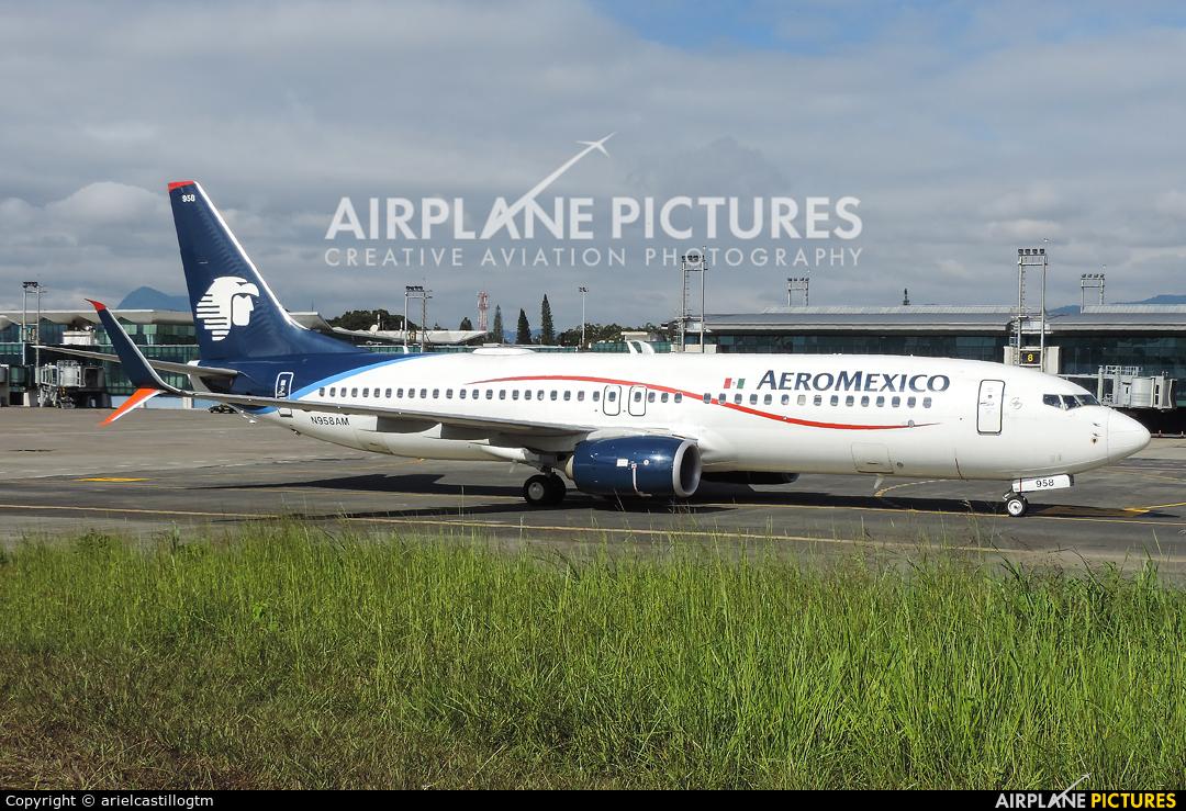 Aeromexico N958AM aircraft at Guatemala - La Aurora