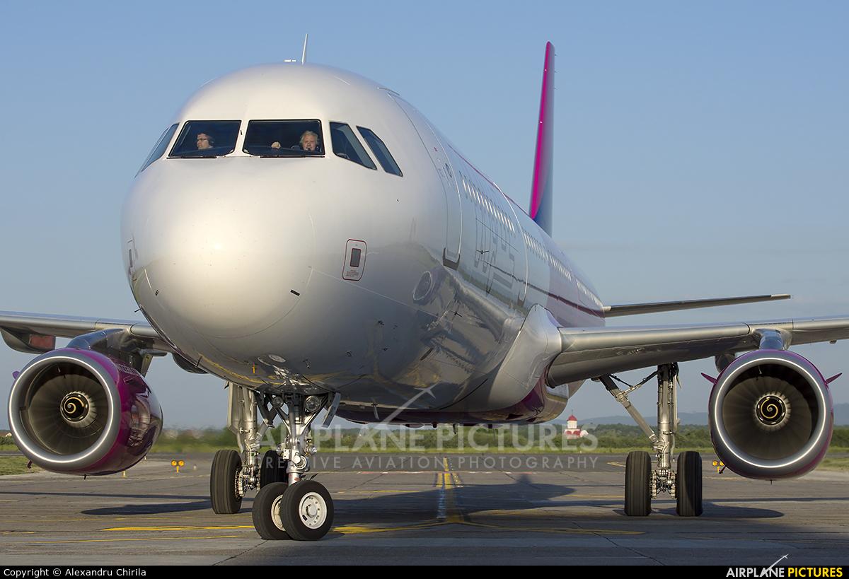 Wizz Air UK G-WUKC aircraft at Satu-Mare