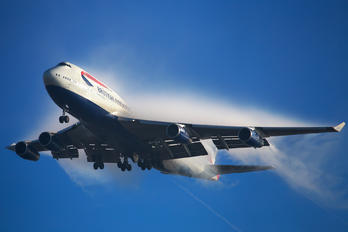 G-CIVU - British Airways Boeing 747-400