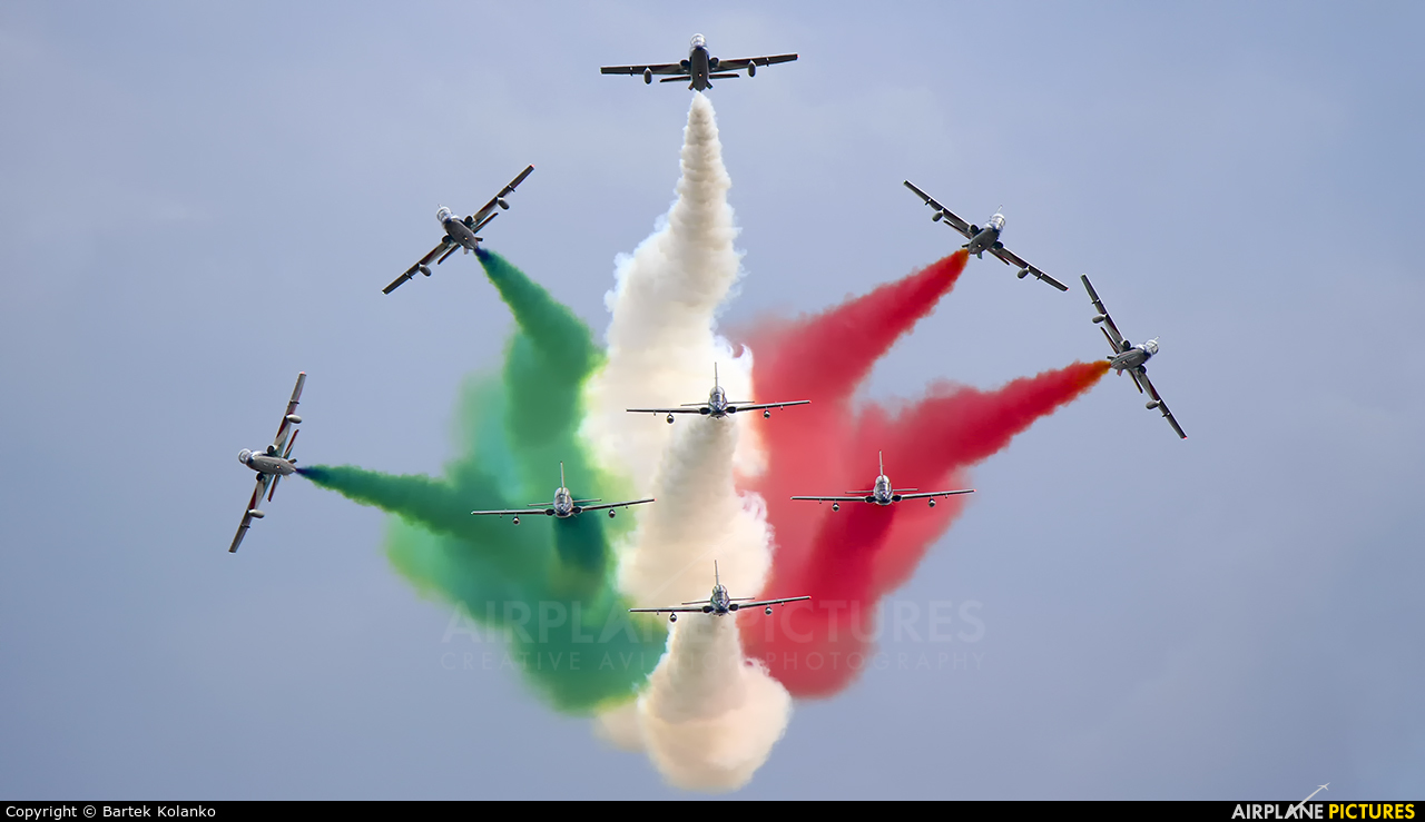 "Italy - Air Force ""Frecce Tricolori"" MM54534 aircraft at Radom - Sadków"