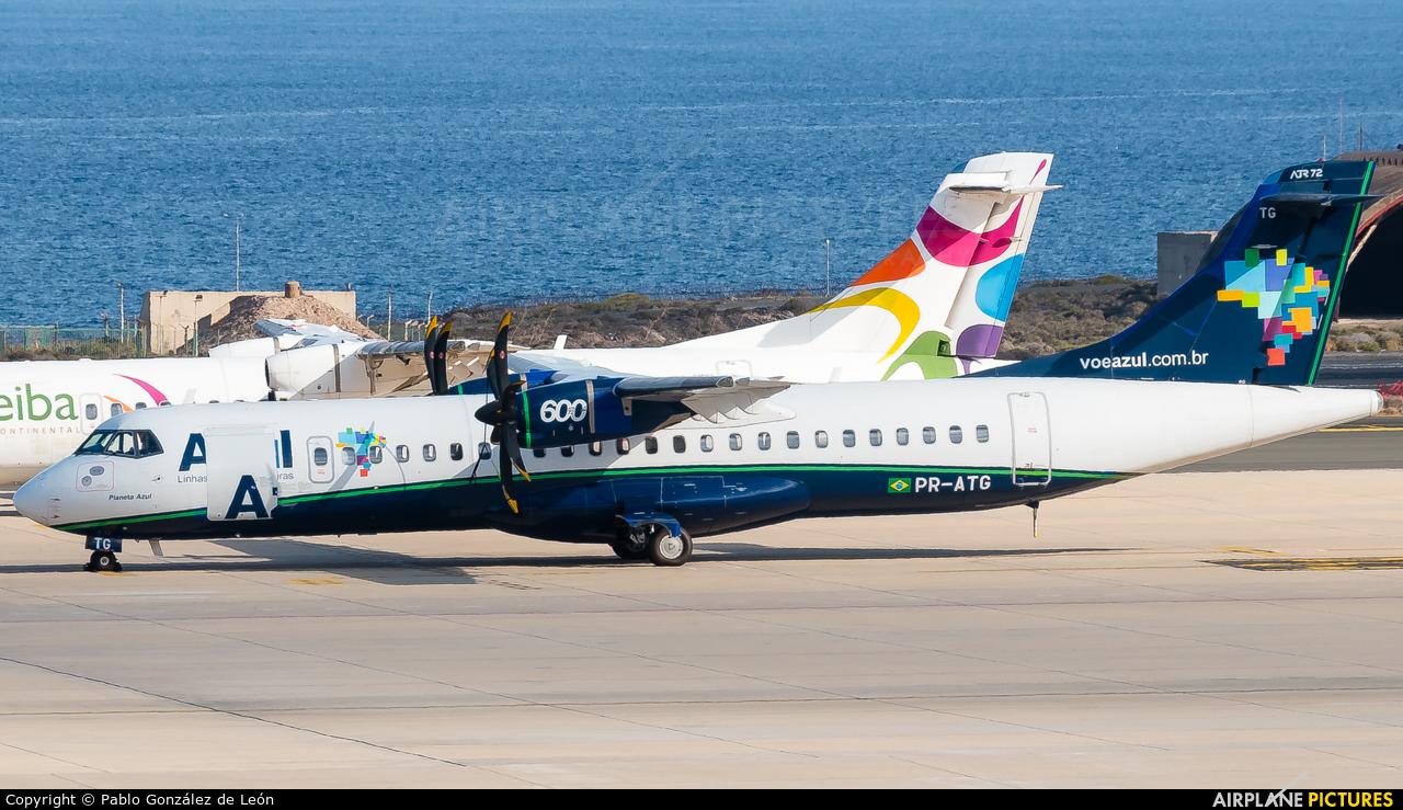 Azul Linhas Aéreas PR-ATG aircraft at Aeropuerto de Gran Canaria