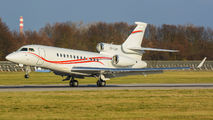 VP-CUH - Volkswagen Air Services Dassault Falcon 7X aircraft